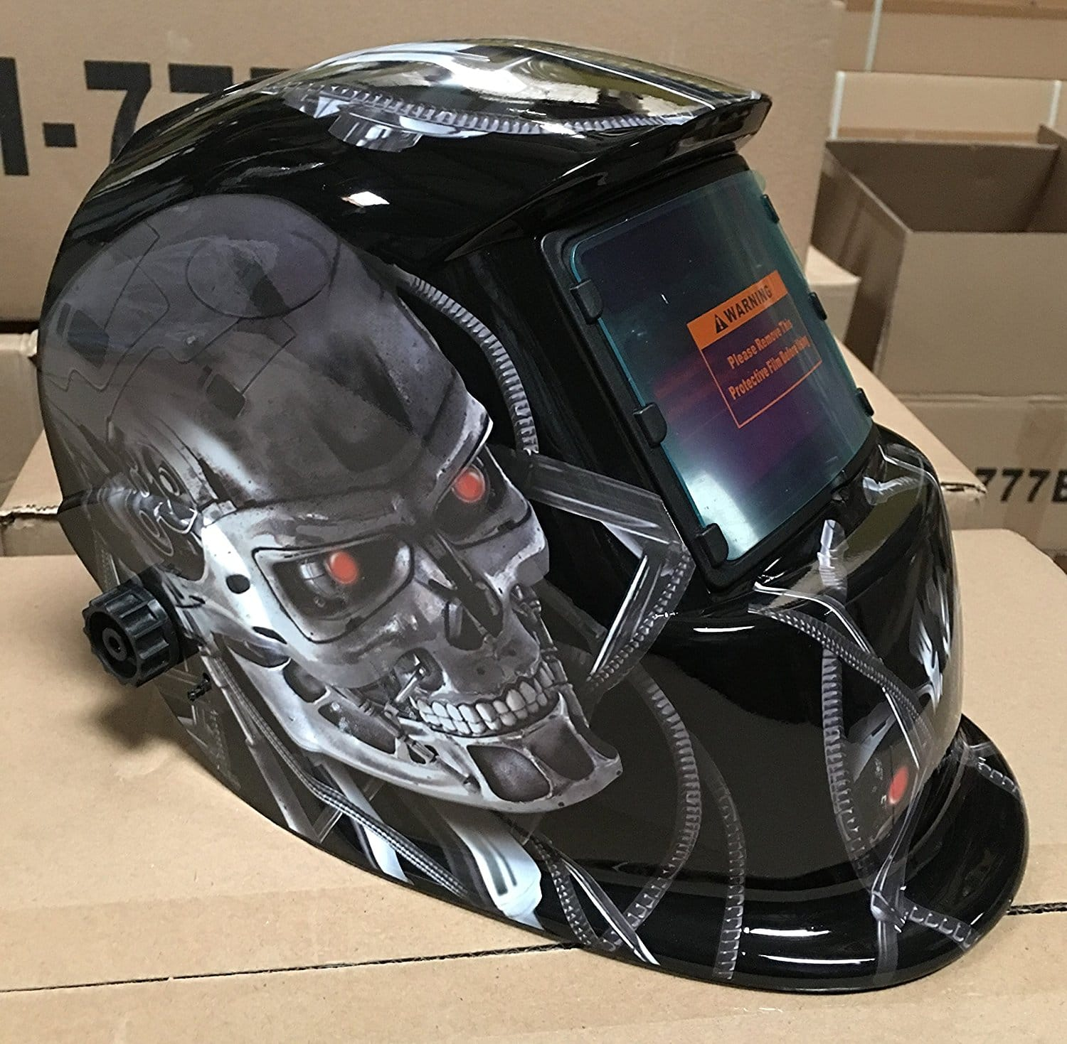 USA seller: TMR Auto Darkening Solar Powered Welders Welding Helmet Mask with Grinding Function