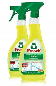 Frosch Natural Lemon Shower & Bathroom Cleaner Spray Bottle
