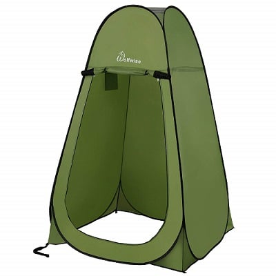 WolfWise Pop up Shower Tent. >>>